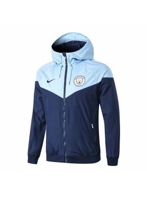 Rompeviento del Manchester City 2018-2019 - Azul claro