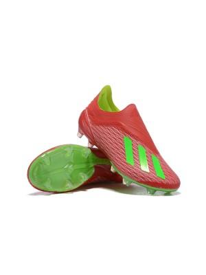Adidas X 18+ FG Rojo Verde