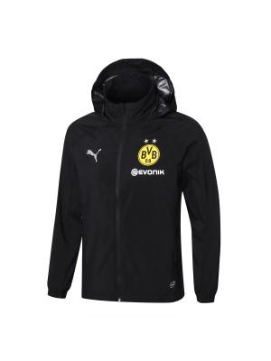 2018-2019 Borussia Dortmund Windbreaker Negro