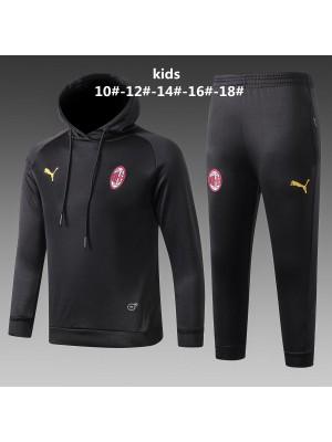 Sudaderas con capucha Chándales AC Milan 2018/2019 Nergo Niños