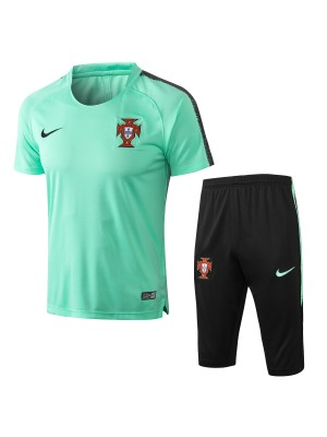 Camiseta del Portugal 2018 Verde Conjunto