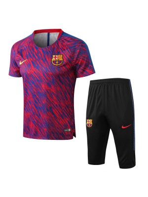 Camiseta del Barcelona Rojo 2018 Conjunto