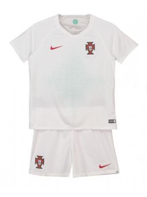 Camisas de Portugal 2a equipación 2018 Niños