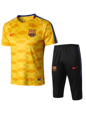 Camiseta del Barcelone Amarillo 2018 Conjunto