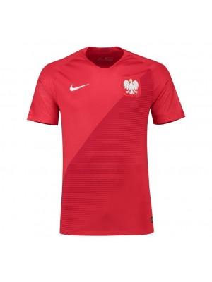 Camisas de Polonia 2a equipación 2018