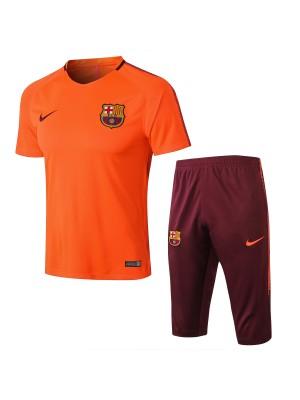 Camiseta del Barcelone Naranja 2018 Conjunto