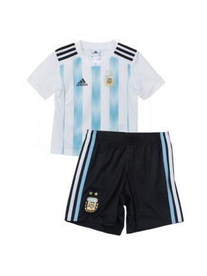 Camisas de Argentina 1a equipación 2018 Niños
