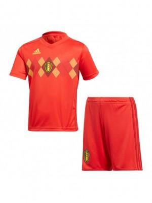 Camiseta del  Bélgica 2018 Rojo Niños