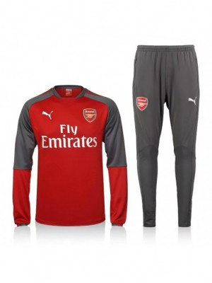 ARSENAL RED TRACKSUIT 2017/2018 - KIDS